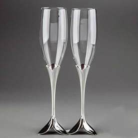 Свадебные бокалы Лепестки