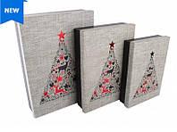 Набор больших подарочных коробок Рождественское дерево