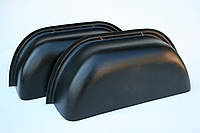 Пластиковые накладки на колесные арки в Mercedes Sprinter/Volkswagen LT (Спринтер, ЛТ -2006) цвет черный