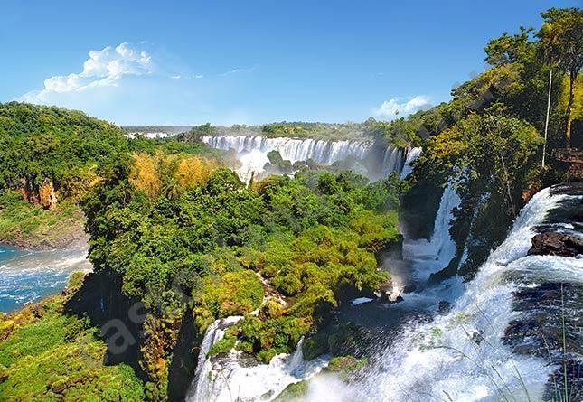 Пазлы  Водопад, Аргентина 1000 элементов