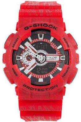 Часы Casio G-Shock GA-110 Mud-Red копия