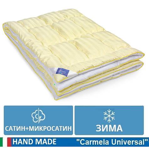 Одеяло детское антиаллергенное EcoSilk Зимнее Carmela 110 x140 сатин+микросатин 0555, фото 2