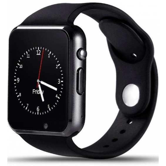 Часы Smart Watch A1 Black Гарантия 1 месяц