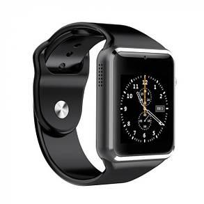 Часы Smart Watch A1 Black Гарантия 1 месяц, фото 2