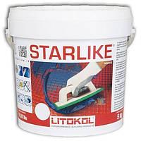 Litokol STARLIKE: КОЛЛЕКЦИЯ GLAMOUR базовые цвета 5 кг - эпоксидный состав для укладки плитки и затирки швов