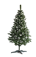 Ялинка новорічна європейська сніжна 2,5м елка искусственная