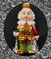 Стеклянная елочная игрушка Король 63/к