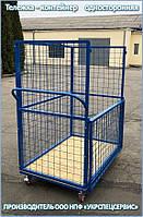 Тележка-контейнер платформенная (односторонняя), фото 1