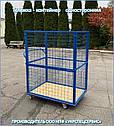 Тележка-контейнер платформенная (односторонняя), фото 2