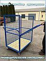 Тележка-контейнер платформенная (односторонняя), фото 3