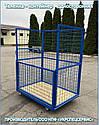 Тележка-контейнер платформенная (односторонняя), фото 4