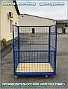 Тележка-контейнер платформенная (односторонняя), фото 6