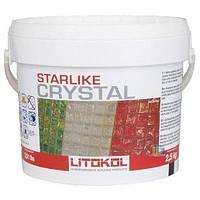 Litokol Starlike Хамелеон (Crystal) 2,5 кг - эпоксидный светопропускающий состав для затирки стекломозаики