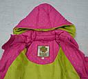 Куртка зимняя для девочки розовая (QuadriFoglio, Польша), фото 6