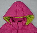Куртка зимняя для девочки розовая (QuadriFoglio, Польша), фото 2