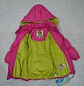 Куртка зимняя для девочки розовая (QuadriFoglio, Польша), фото 5