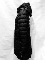 Veralba-пуховик, модель 83, без меха , черный, фото 3