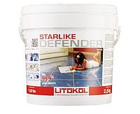 Litokol Starlike Defender 2.5кг - антибактериальный эпоксидный состав для укладки и затирки всех видов плитки