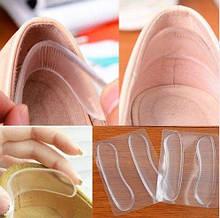Силіконові смужки проти натирання взуття, силікон