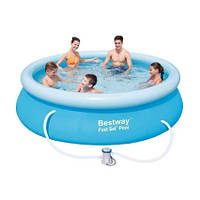 Bestway Надувной бассейн Bestway 57270/57109 (305х76) с картриджным фильтром