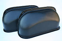 Пластиковые накладки на колесные арки в Renault Master, Movano, Interstar (Мастер, Мовано -09) цвет черный