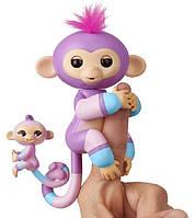 Интерактивная гламурная обезьянка Вайлет с мини-обезьянкой Fingelings  W3540/3543