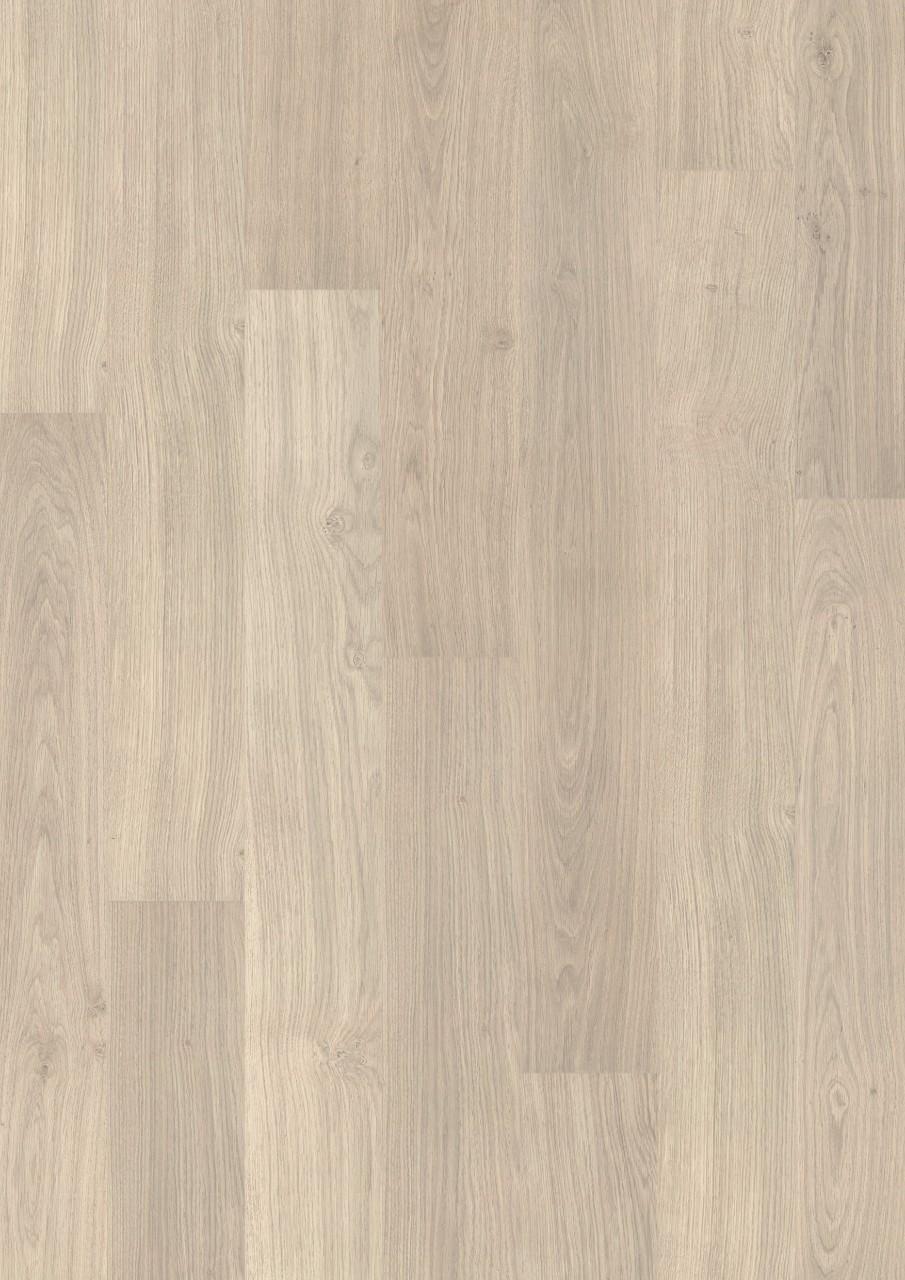 Ламінат Quick step колекція Eligna декор Світло-сірого лакового дуба