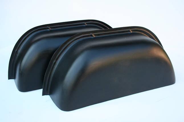 Накладки на колесные арки в Trafic, Vivaro, Primastar (Трафик, Виваро, Примастар) цвет черный, фото 2