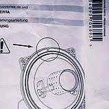Прокладка крышки камеры сгорания Ariston Clas Premium, Genus Premium 24-35кВт 60000623 оригинал (пр-во Италия), фото 3