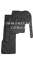 Автомобильные ковры из экокожи Renault Magnum трансформер Механика серого цвета