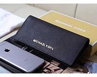 Женский черный кошелек в стиле Michael Kors (497), фото 1