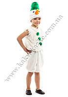 Новогодний костюм Снеговика зеленый