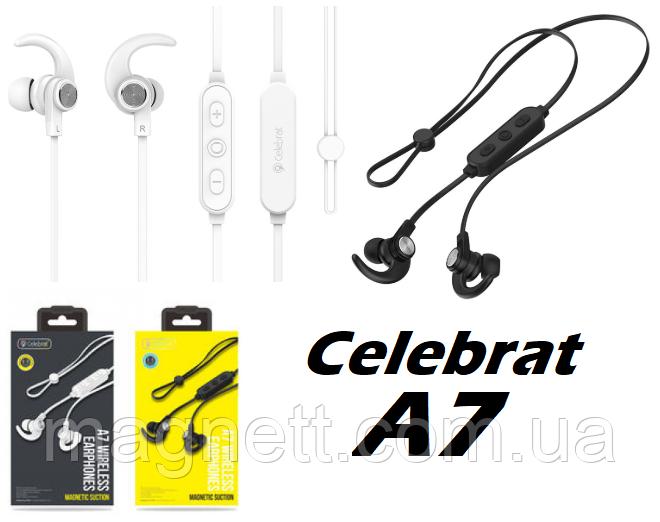 Наушники Bluetooth Celebrat A7