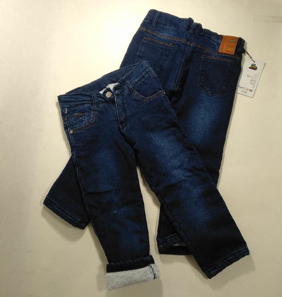 Детские джинсы 3-7 Sercino на травке 43543