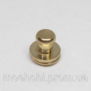 Винт для кобуры (4мм) золото  5078
