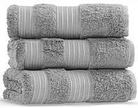 Махровое полотенце 50х90 бамбук/хлопок London DARK GREY CASUAL AVENUE