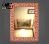 Зеркало настенное Lucknow в белой с золотом раме, фото 7