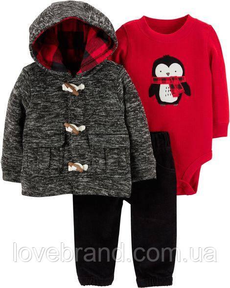"""Новогодний костюм для мальчика  Carter's """"Пингвин"""""""