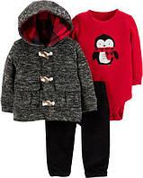 """Новогодний костюм для мальчика  Carter's """"Пингвин"""" 3 мес/55-61 см"""