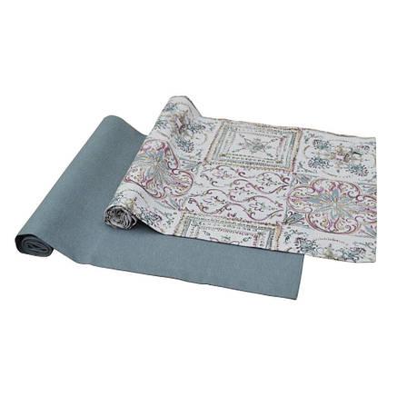 Дорожка на стол Uni grey 120х40см, фото 2