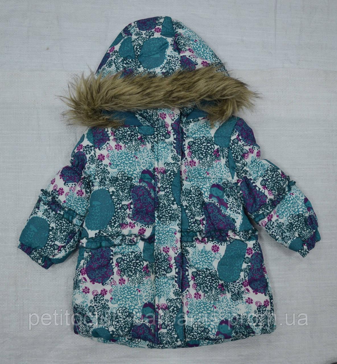 Куртка зимняя JACK для девочки бирюзовая (QuadriFoglio, Польша)