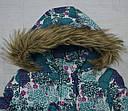 Куртка зимняя JACK для девочки бирюзовая (QuadriFoglio, Польша), фото 4