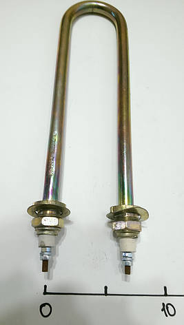 ТЭН для нагрева воды оцинкованный 3500w Ø13 (штуцер м22) Винница, фото 2