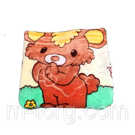 Детский велюровый плед 110*130 см, фото 2