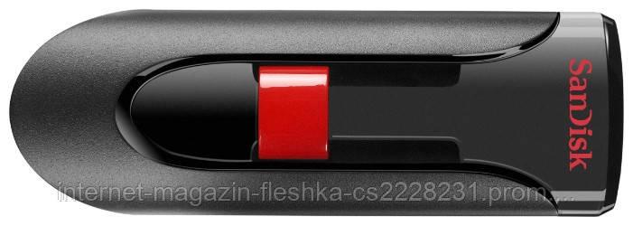 USB-флеш накопитель  SanDisk Cruzer 16Gb Black/Red