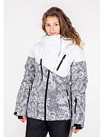 Куртка лижна жіноча Just Play Lanta білий/сірий (B2337-white) - XL