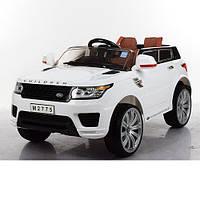 Bambi Электромобиль Bambi Range Rover M 2775 EBLR-1 White (M 2775 EBLR)