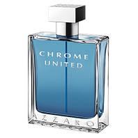 Azzaro Chrome United 100ml edt (энергичный, освежающий, мужественный, энергичный)