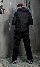 Мужской зимний лыжный костюм с комбинезоном  46-52 рр, фото 3
