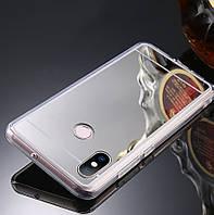 """Чехол Xiaomi Mi 8 6.21"""" силикон зеркальный металлик"""